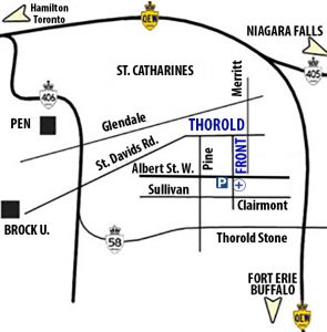 Map | Thorold Family Medical Centre